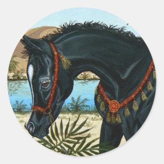Pequeño pegatina del potro del caballo de príncipe
