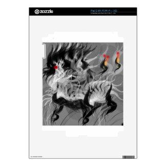 Pequeño perro abstracto iPad 2 skin
