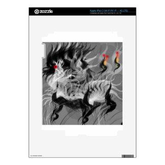 Pequeño perro abstracto iPad 3 pegatina skin