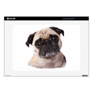 pequeño perro lindo del barro amasado portátil skins