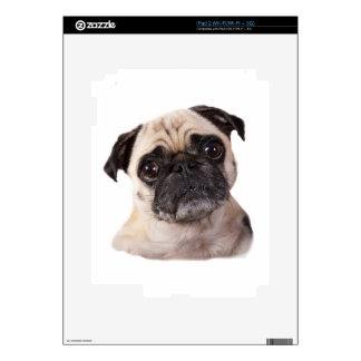 pequeño perro lindo del barro amasado skins para iPad 2