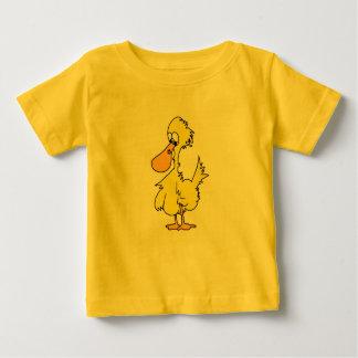 Pequeño personaje de dibujos animados Ducky Playera Para Bebé