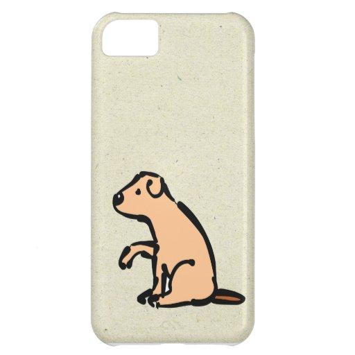 pequeño petición del perro de wobblies funda para iPhone 5C