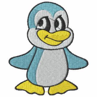 Pequeño pingüino azul lindo