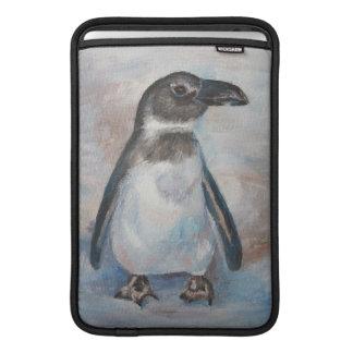 Pequeño pingüino frío funda macbook air