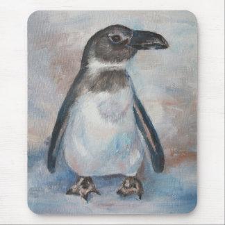 Pequeño pingüino frío Mousepad