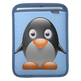 Pequeño pingüino lindo funda para iPads
