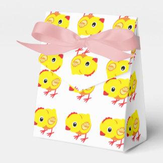 pequeño pollo caja para regalo de boda
