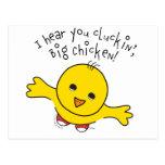 Pequeño pollo tarjeta postal