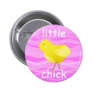 Pequeño polluelo - insignia del botón pin