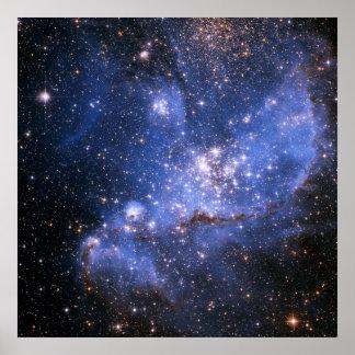 Pequeño poster de la nube de Magellanic