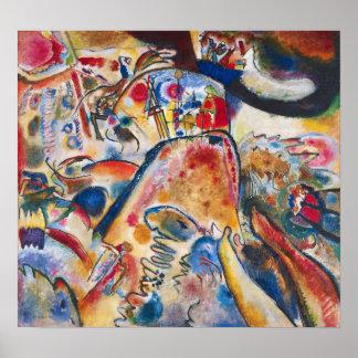 Pequeño poster de los placeres de Kandinsky Póster