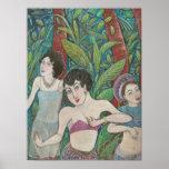 """Pequeño poster del arte de """"3 bailarines"""""""