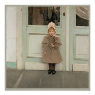 Pequeño poster dulce de Jeanne CC0070