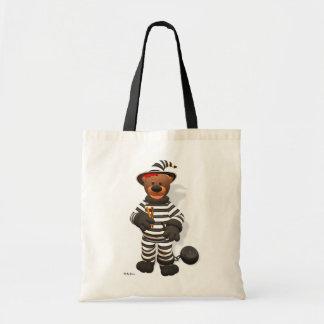 Pequeño preso de los osos pequeños bolsa tela barata