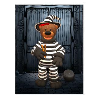 Pequeño preso de los osos pequeños postal