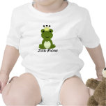 Pequeño príncipe bebé de la rana camisetas