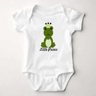 Pequeño príncipe bebé de la rana playeras