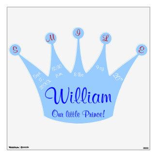 Pequeño príncipe Blue Crown Baby Stats de la