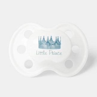 Pequeño príncipe chupetes para bebés