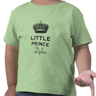 Pequeño príncipe con verde de la corona V07D del Camisetas