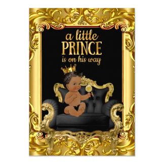 """Pequeño príncipe en la fiesta de bienvenida al invitación 5"""" x 7"""""""