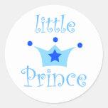 pequeño príncipe pegatinas redondas