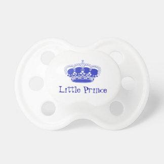 Pequeño príncipe Royal Baby Crown Chupete De Bebe