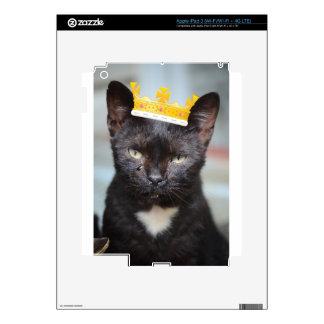 pequeño príncipe triste Kittie Pegatinas Skins Para iPad 3