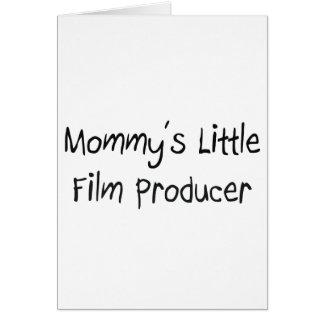 Pequeño productor cinematográfico de Mommys Tarjeta De Felicitación