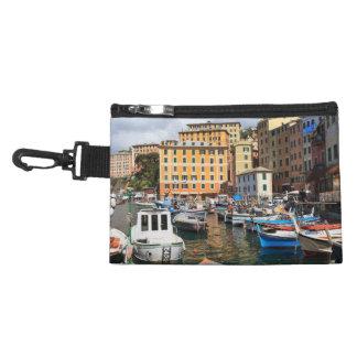 pequeño puerto en Camogli Italia