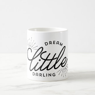 Pequeño querido ideal taza básica blanca