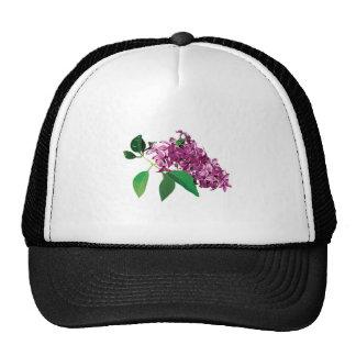 Pequeño racimo de lilas rosadas gorro