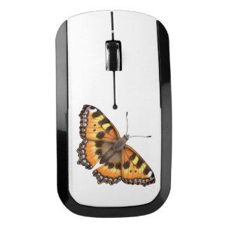 Pequeño ratón de la radio de la mariposa de concha ratón inalámbrico