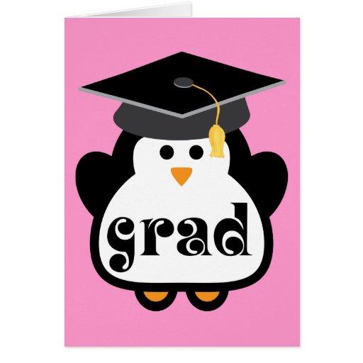 Peque&241o Regalo De La Graduaci&243n Del Ping&252ino G Felicitaciones