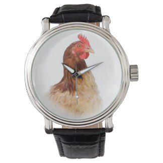Pequeño reloj de la gallina de Brown