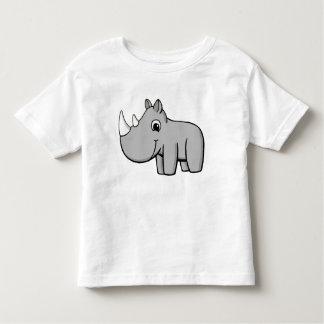 Pequeño rinoceronte playera de bebé