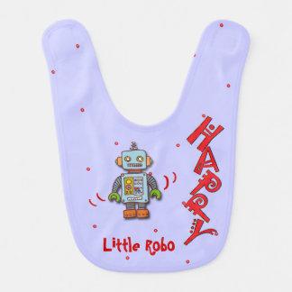 Pequeño Robo feliz Baberos De Bebé