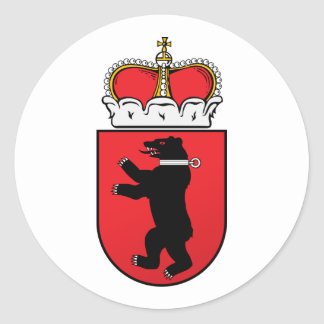 Pequeño Samogitia, Lituania Etiquetas Redondas