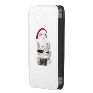 Pequeño Santa Robo-x9, llevando a cabo luces de Bolsillo Para iPhone