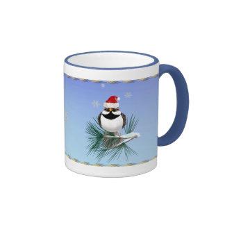 Pequeño Santa Sparrow_Mugs Taza De Café