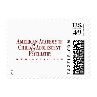 Pequeño sello de 46 centavos de AACAP - registro