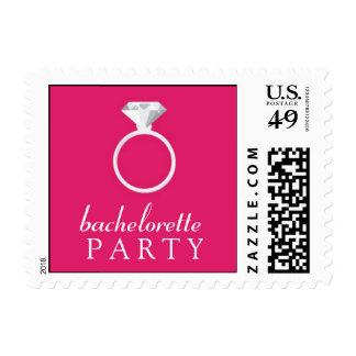 Pequeño sello del fiesta rosado de Bachelorette