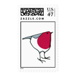 Pequeño sello del petirrojo