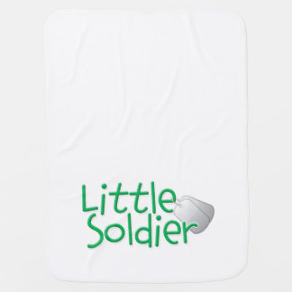 Pequeño soldado mantita para bebé