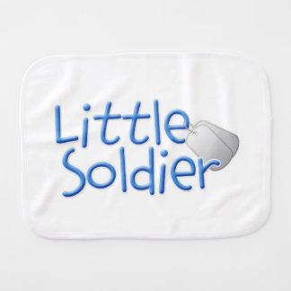 Pequeño soldado paños para bebé