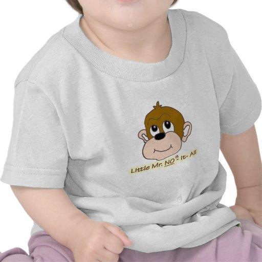 Pequeño Sr. No It All Camiseta