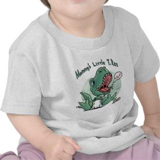 Pequeño T. Rex de la mamá por los estudios de Camisetas