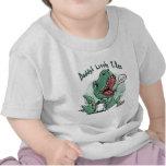 Pequeño T. Rex del papá por los estudios de Mudge Camiseta