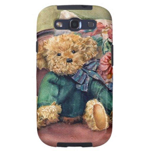 """Pequeño teddy. lindo """"bonito"""" que se sienta galaxy s3 cobertura"""